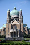 Basilica del cuore sacro, Bruxelles Immagini Stock Libere da Diritti