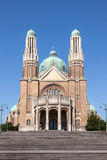 Basilica del cuore sacro a Bruxelles Immagine Stock