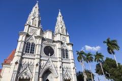Basilica del cuore sacro in San Salvador immagini stock