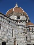basilica del di fiore佛罗伦萨玛丽亚・圣诞老人 库存图片