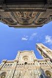 basilica del di fiore意大利玛丽亚・圣诞老人 免版税库存图片