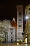basilica del di fiore florence italy maria santa Arkivbilder