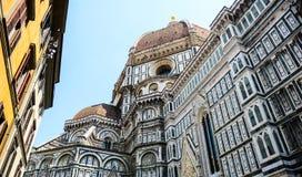 basilica del fiore佛罗伦萨玛丽亚・圣诞老人 图库摄影