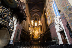 Basilica del presupposto, Leopoli della cattedrale Fotografia Stock