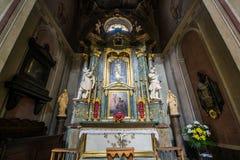 Basilica del presupposto, Leopoli della cattedrale Immagini Stock