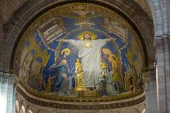 Basilica del Sacre Coeur su Montmartre, Parigi, Francia Fotografia Stock Libera da Diritti