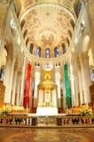 Basilica del Sainte-Anne-de-Beaupre, Quebec Fotografia Stock Libera da Diritti