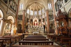 Basilica del Santisimo Sacramento royalty free stock photos