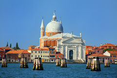 Basilica del Santissimo Redentore on Giudecca island in Venice, Royalty Free Stock Photos