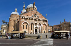 Basilica del Santo or Basilica of Saint Anthony of Padova Stock Photography