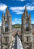 Basilica del Vote Nacional in Quito, Ecuador Royalty Free Stock Photos