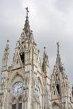 Basilica del Voto Nacional in Quito Stock Image