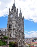 Basilica del Voto Nacional in Quito, Stock Photo