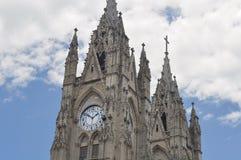 Basilica del Voto Nacional in Quito, Royalty Free Stock Image