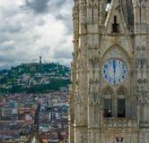 Basilica del Voto Nacional, Quito, Ecuador stock photography