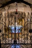 Basilica dell'annuncio, Nazaret della grotta di Mary's immagine stock