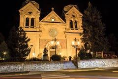 Basilica della cattedrale dello St Francis di Assisi Fotografia Stock