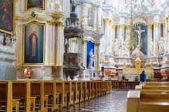 Basilica della cattedrale di Kaunas Immagini Stock Libere da Diritti