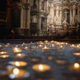 Basilica della cattedrale di Kaunas Fotografie Stock