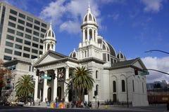 Basilica della cattedrale di St Joseph (San José) fotografia stock