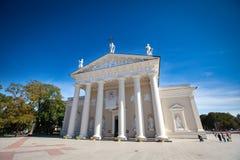 Basilica della cattedrale di Vilnius Fotografia Stock Libera da Diritti