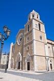 Basilica della cattedrale. Lucera. La Puglia. L'Italia. Fotografia Stock Libera da Diritti