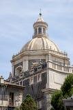 Basilica della Collegiata, Catania, Sicily, Italy Stock Photography