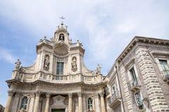 Basilica della Collegiata, Catania, Sicily, Italy Stock Image