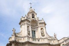 Basilica della Collegiata, Catania, Sicily, Italy Royalty Free Stock Photo