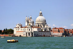 basilica della di玛丽亚致敬圣诞老人威尼斯 免版税库存照片