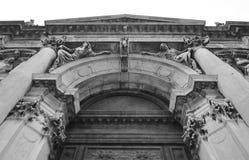 basilica della di maria honnör santa venice Arkivfoton
