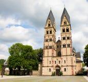 Basilica della macchina per colata continua della st a Coblenza, Germania fotografia stock libera da diritti