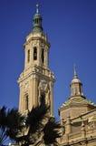 Basilica della nostra signora di Pilar Immagine Stock