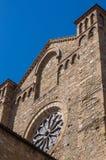 Basilica della novella della Santa Maria Vista dalla stazione ferroviaria Fotografia Stock Libera da Diritti