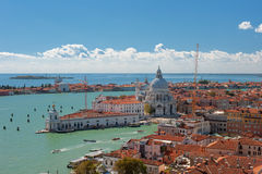 Basilica Della Salute in Venice Royalty Free Stock Photo