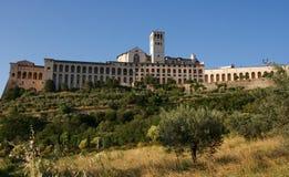 Basilica della st Francis di Assisi Fotografia Stock Libera da Diritti