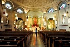 Basilica della st Lawrence a Asheville Fotografie Stock Libere da Diritti