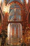 Basilica della st Mary, Cracovia, Immagine Stock Libera da Diritti