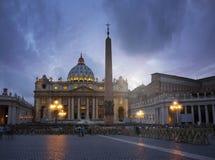 Basilica della st Peter Immagine Stock