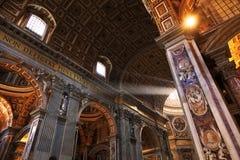 Basilica della st Peter Immagini Stock