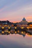 Basilica della st Peter \ 'di s, Roma Immagini Stock Libere da Diritti
