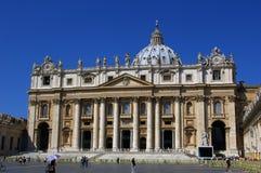 Basilica della st Peter a Vatican immagini stock libere da diritti