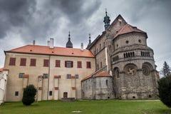 Basilica della st Procopius fotografia stock libera da diritti