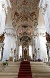 Basilica della st Vitus in Ellwangen, Germania Fotografia Stock