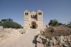 Basilica della trasfigurazione, supporto Tabor, Galilea Fotografia Stock