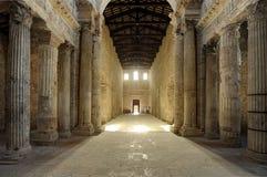 basilica di圣・ Salvatore Spoleto 图库摄影
