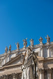 Basilica di圣彼得罗在Vaticano 免版税库存照片