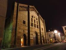 Basilica di圣米谢勒Maggiore,帕尔瓦 意大利 图库摄影