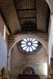 Basilica di圣芝诺走道在维罗纳市 免版税库存图片