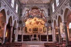 Basilica di圣诞老人Restitua 免版税库存照片